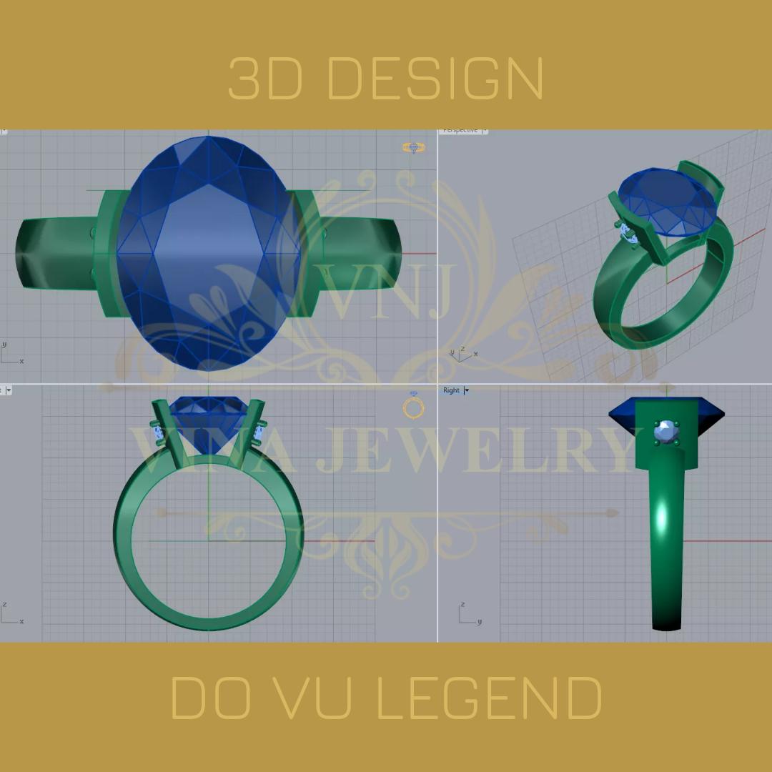 Lên mẫu thiết kế 3D duyệt lần 2