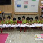 Rectangle Day Celebrated by Nursery Evening Section, Witty World, Chikoowadi (2017-18)