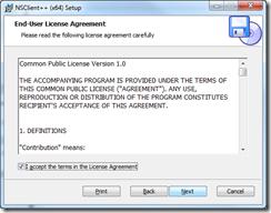 NSClient++ Setup - License