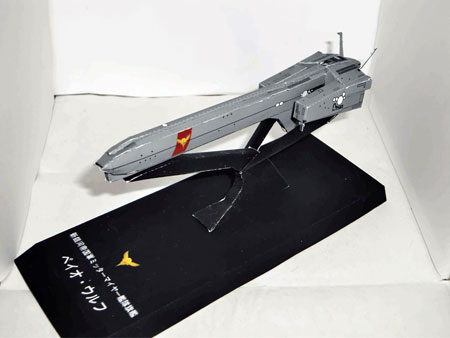 Legend of the Galactic Heroes Beowulf Papercraft