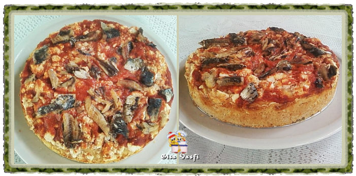 Pizza de sardinha
