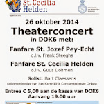 2014-10-26 Concert DOK6 Fanfare St. Cecilia + Fanfare St.Joseph Pey