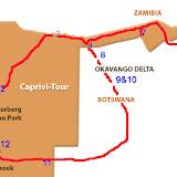 Caprivi Tour aus Namib Enviro Tours Webpage