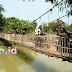 Jembatan Gantung Desa Muara Blanakan, Jembatan Gantung Kali Ciasem yang Macet Saat Lebaran