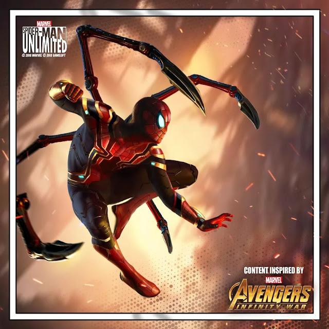 Iron Spider Kostümü Çıktı