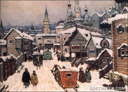 14.The old Moscow