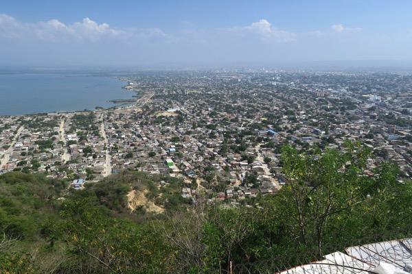 View city suburbs