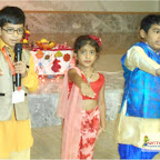 Ganesh Chaturthi Celebration by Grade I  at Witty World, Chikoowadi (2017-18)
