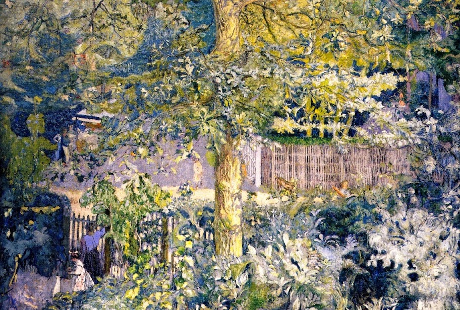 Édouard Vuillard - Foliage. Oak Tree and Fruit Seller