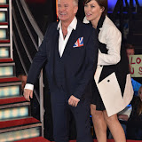 OIC - ENTSIMAGES.COM - Bobby Davro and Emma Willis at the Celebrity Big Brother Final held at the Elstree Studios in London on the 24th September 2015. Photo Mobis Photos/OIC 0203 174 1069