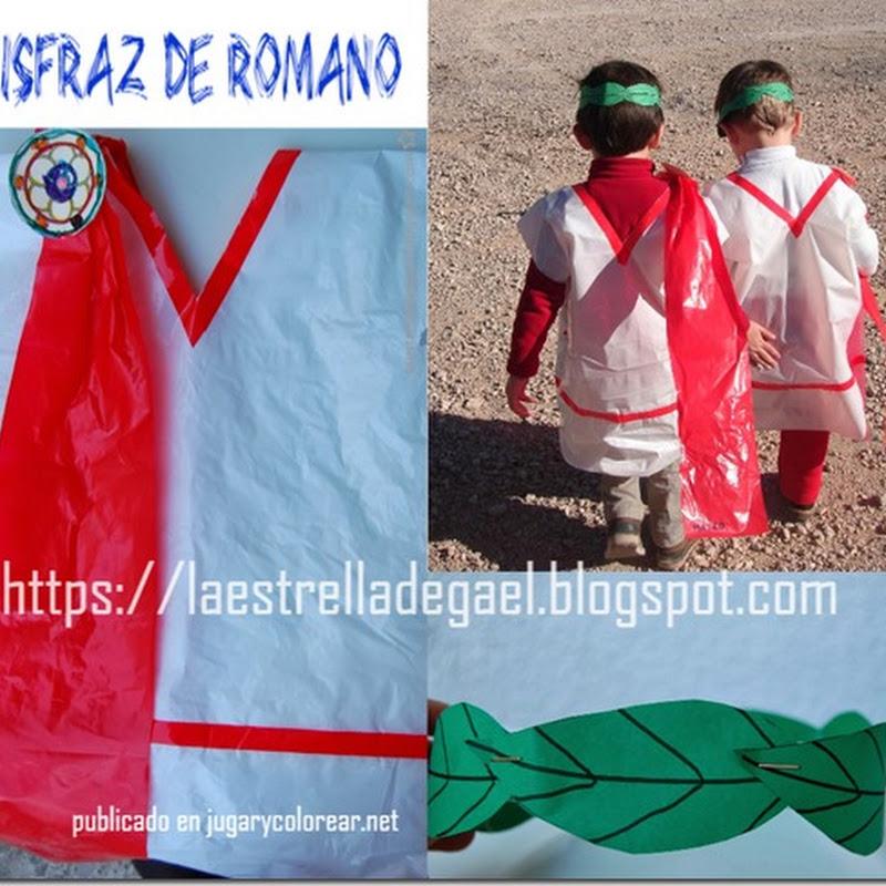Disfraz de Romano bolsa de basura