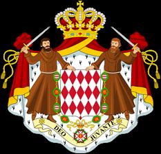Lambang negara Monako