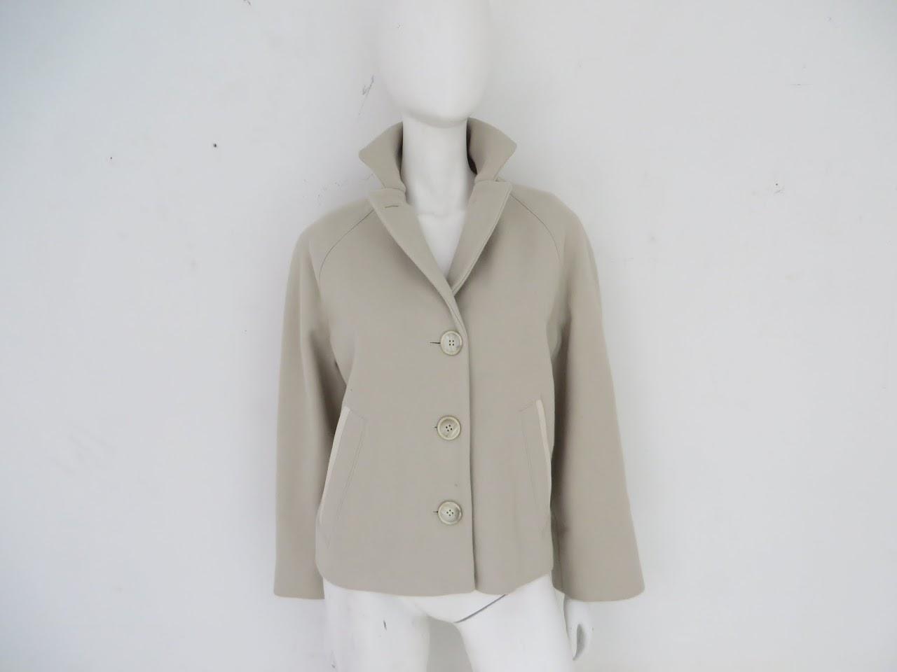 Narciso Rodriguez Wool Coat