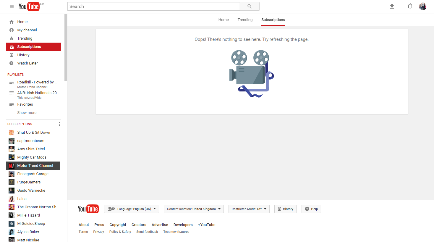 I broke my YouTube by uprating a comment - YouTube Help