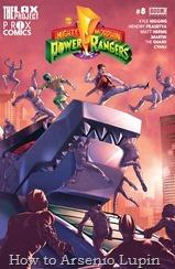 Mighty Morphin Power Rangers 008-000