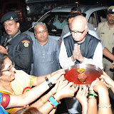 Advani's Visit to Annapoorna