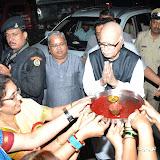 Advani's Visit to Annapoorna