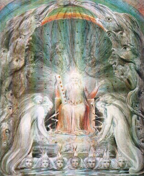 Seven Spirits Of God By William Blake, William Blake