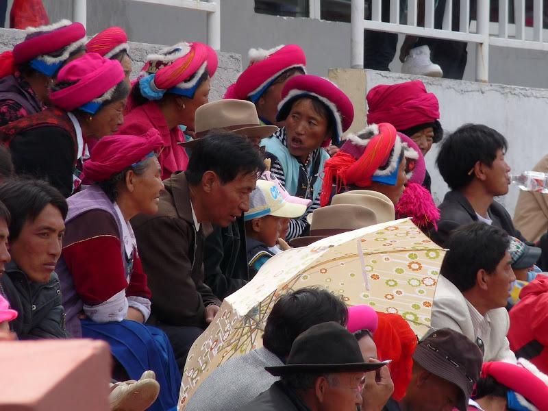 Chine. Yunnan.Shangri la Course hippique annuelle - P1250709.JPG