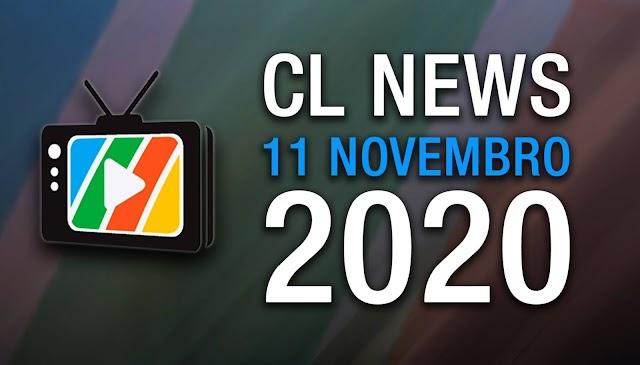 CLNews 11 de novembro,  por Cláudio Lessa.