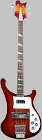 Aniversary rickenbacker 4001 4003 Bass guitar
