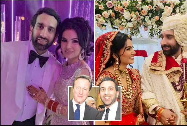 Millionaire hotel tycoon Vivek Chadha, 33, collapses and dies eight weeks after lavish marriage to 29-year-old model