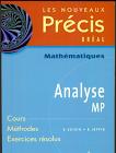 Livre précis Mathématique Analyse MP PDF