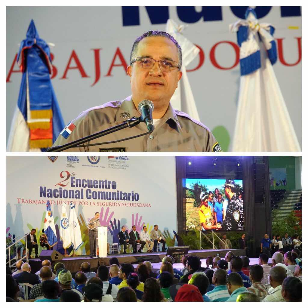 Director de la PN participa en el Segundo Encuentro Nacional Comunitario