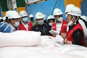 Mentan SYL Tinjau Pabrik dan Gudang Pupuk PT Pupuk Pusri Palembang, Ini Tujuannya