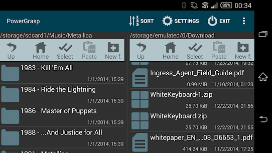 PowerGrasp file manager – APK + MOD (Unlocked) 2