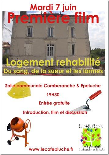 Affiche Logement rehabilite 1