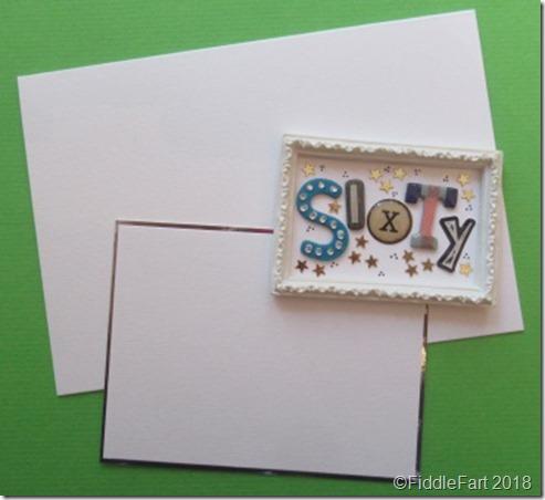 Random Letter 60th Birthday Card