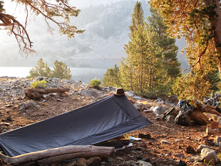 Our campsite in the early morning light. ©http://backpackthesierra.com