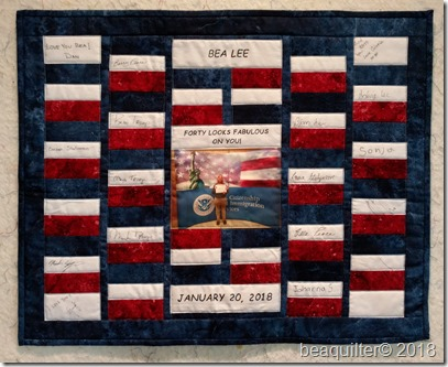 patriotic wall hanging
