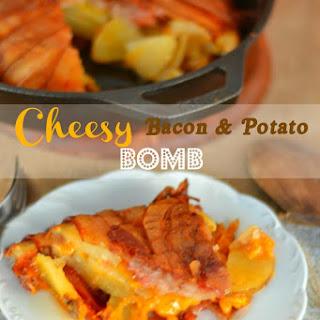 Cheesy Bacon and Potato Bomb