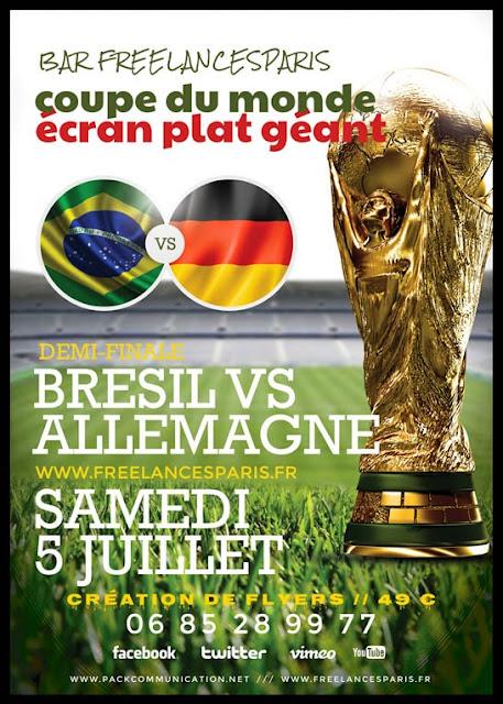création flyer brésil 2014 coupe du monde 02