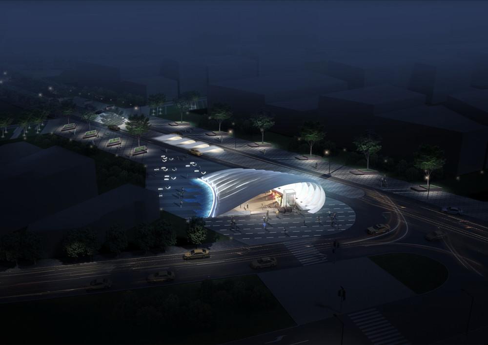 Station 20 in Sofia design by Peter Ruge Architekten