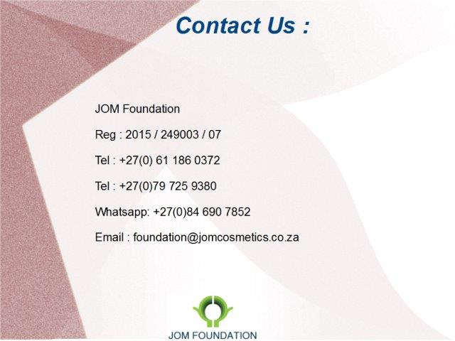 Foundation Contact details