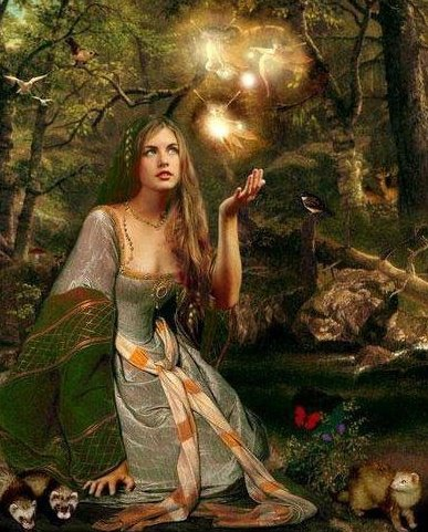 Forest Wiccan Princess, Fairies Girls