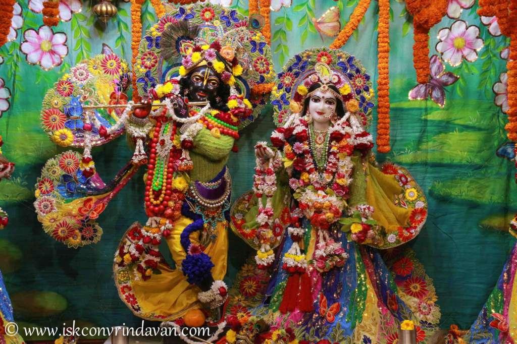 ISKCON Vrindavan Sringar Deity Darshan 18 Dec 2015 (15)