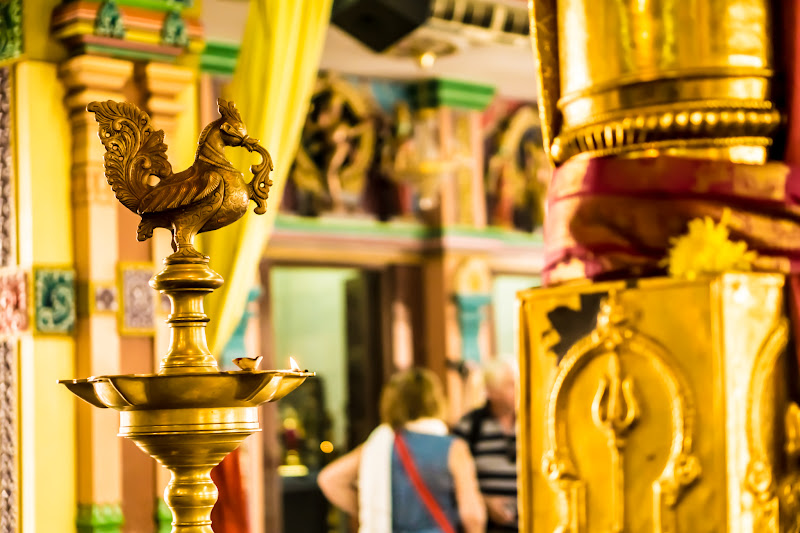 クアラルンプール チャイナタウン スリ・マハ・マリアマン寺院8