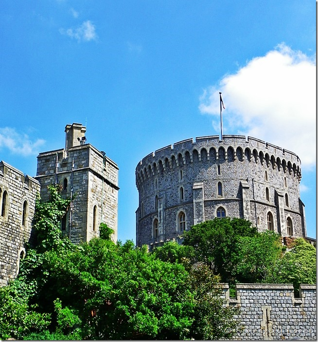 Windsor Castle: the Round Tower
