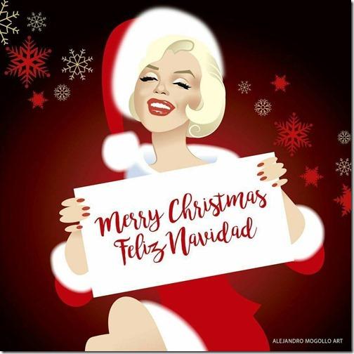 navidad merry_christmas_marilyn monroe (25)