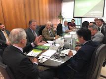 Secretário Efraim Morais participa de reunião do Conselho de administração da ANATER