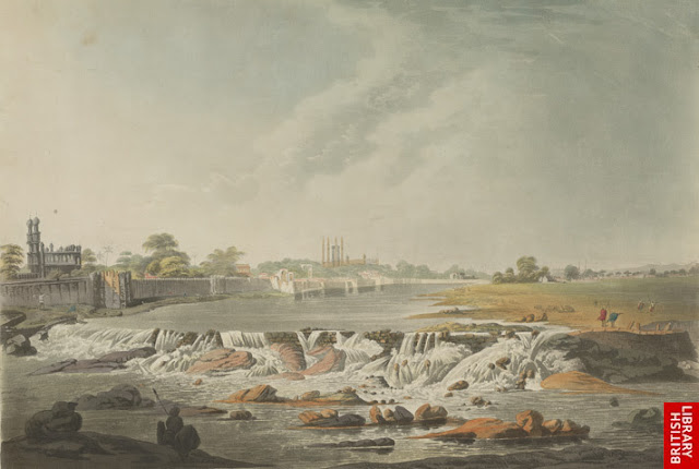*North east view of Hydrabad; by Major General Sir Thomas Anburey and Francis Tukes, London, 1799*