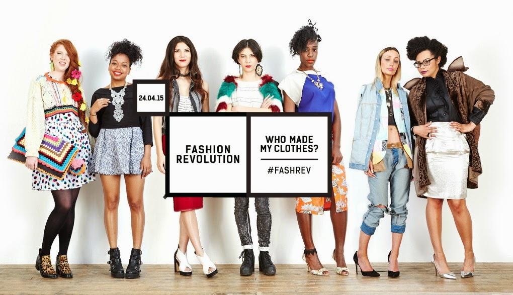 24 апреля - «День Модной Революции», Fashion Revolution Day