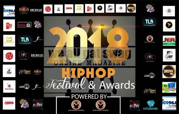 2018 PROMOTIONAL SPONSORS OF JOS HIP HOP FESTIVAL