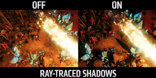 ray tracing, VRS and other AMD technologies in The Riftbreaker