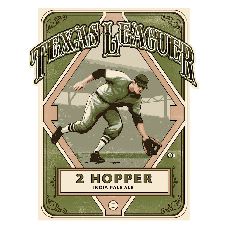 Logo of Texas Leaguer 2 Hopper