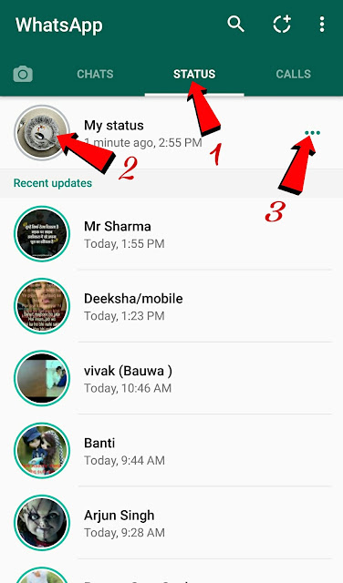 WhatsApp Par Apna Photo Aur Status Kaise Update Kare.